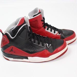 Nike Air Jordan SC-3 Basketball Shoes Black red